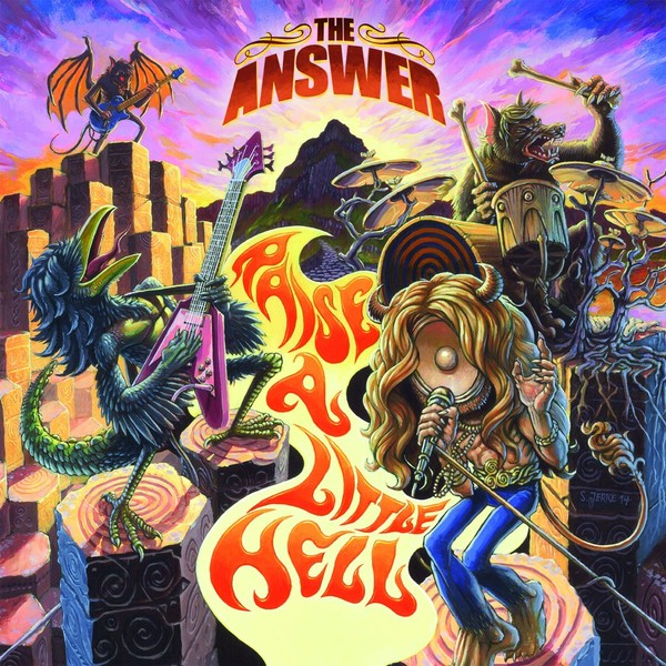 Answer - Raise A Little Hell (2 LP)