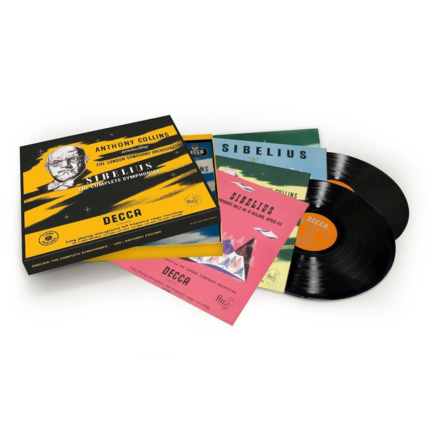 Sibelius SibeliusAnthony Collins - : The Symphonies (6 Lp Box)