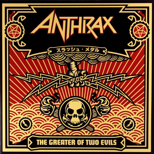 Anthrax Anthrax - Greater Of Two Evils (2 LP) mark sennen two evils a di charlotte savage novel