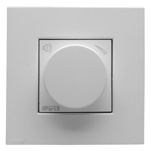Панель управления APart N-VOL10K White apart cmar8t w white