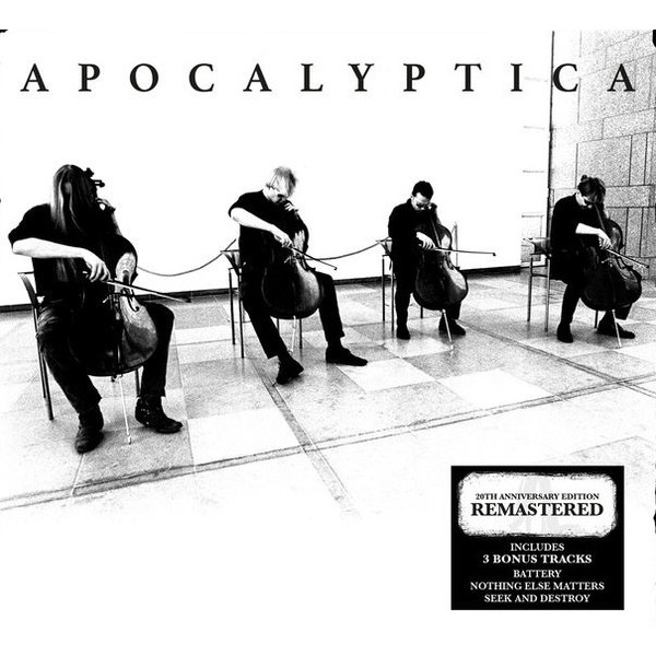 Apocalyptica Apocalyptica - Plays Metallica (20th Anniversary Edition) (2 Lp+cd)