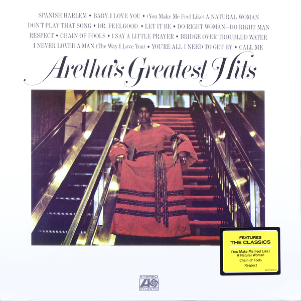 Aretha Franklin - Arethas Greatest Hits
