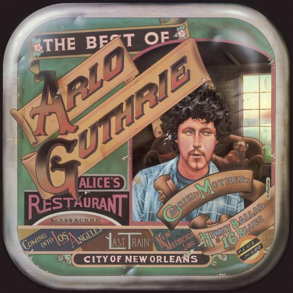Arlo Guthrie Arlo Guthrie - The Best Of (colour) woody guthrie house of earth