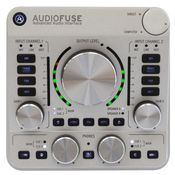 Внешняя студийная звуковая карта Arturia Audiofuse Classic Silver
