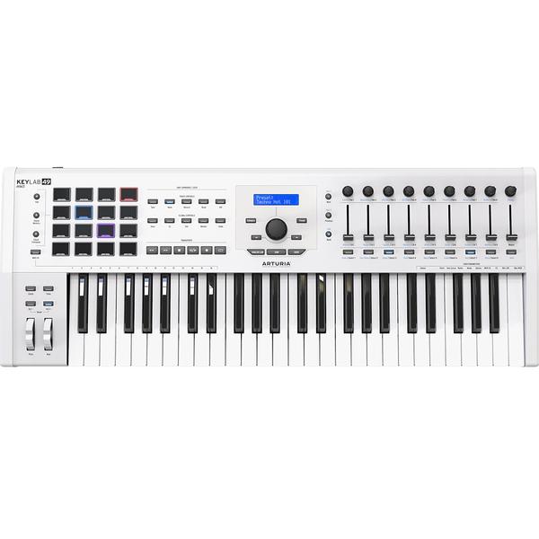 MIDI-клавиатура Arturia KeyLab 49 mkII White