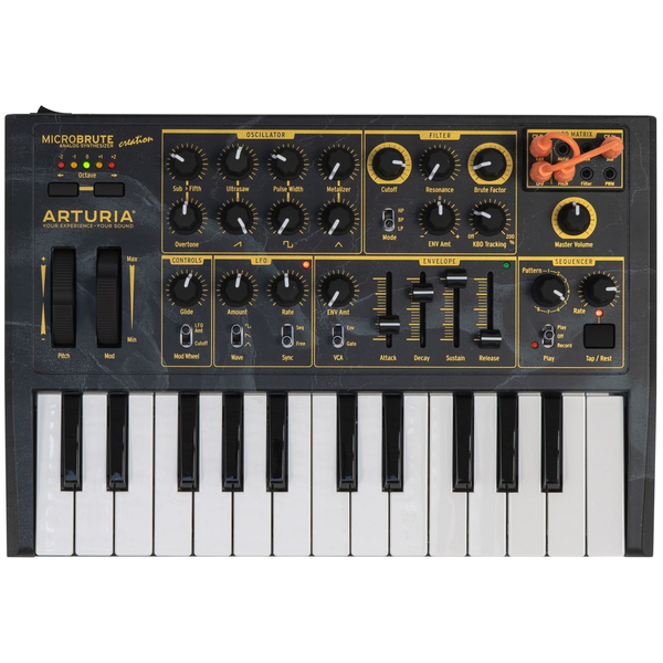 Синтезатор Arturia MicroBrute Creation Edition