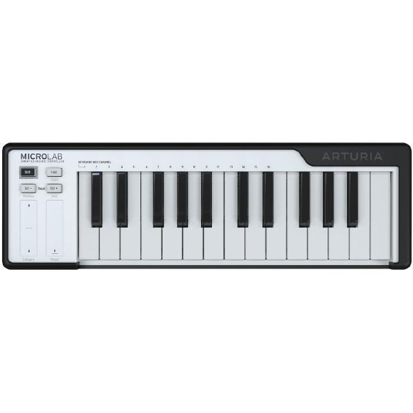 MIDI-клавиатура Arturia Microlab Black midi клавиатура arturia keylab 61 mkii black