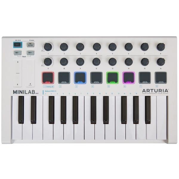 MIDI-клавиатура Arturia MiniLab mkII White