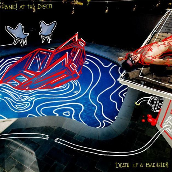 Panic! At The Disco Panic! At The Disco - Death Of A Bachelor disco house 2016 2 cd