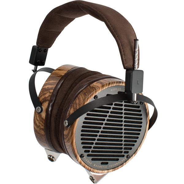 Охватывающие наушники Audeze LCD-3 (Leather Free) Zebrano 3 5mm 2 5mm 4 4mm 800 wires soft silver occ alloy tefl aft earphone headphone cable for audeze lcd 3 lcd3 lcd 2 lcd2