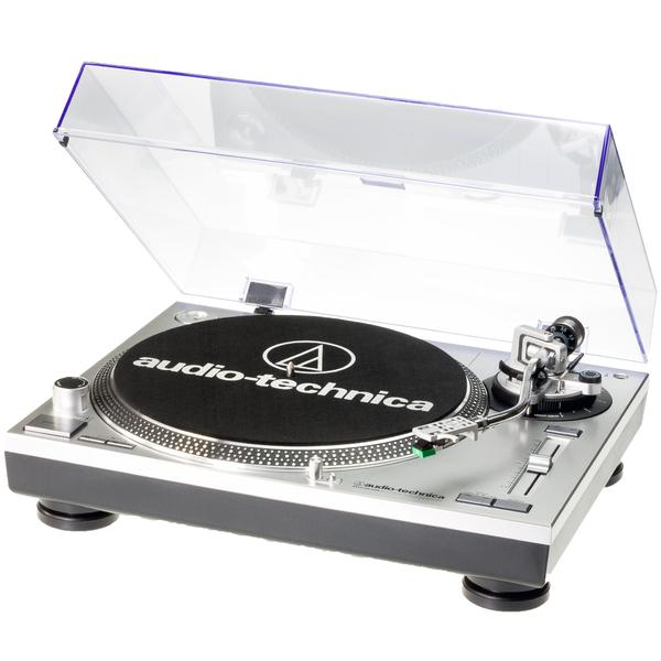Виниловый проигрыватель Audio-Technica AT-LP120 USB HC Silver цена и фото