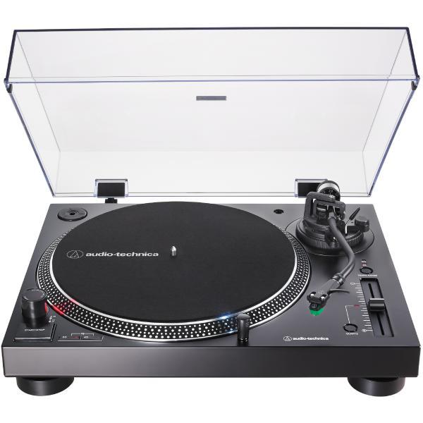 Виниловый проигрыватель Audio-Technica AT-LP120X USB Black виниловый проигрыватель audio technica at lp60bt wh