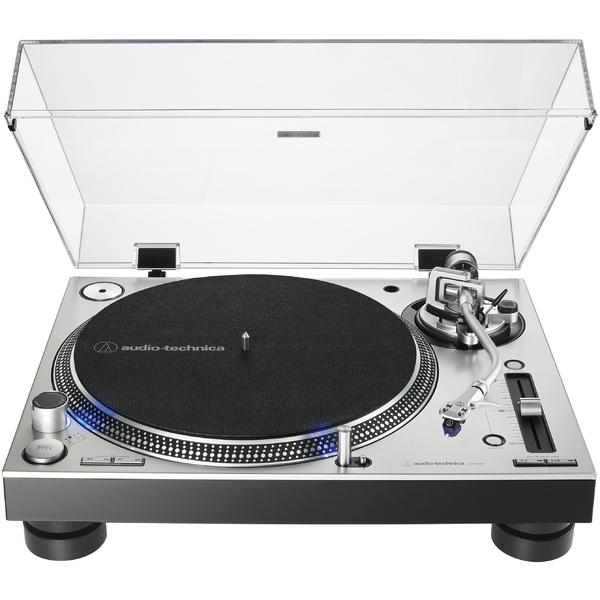 Виниловый проигрыватель Audio-Technica AT-LP140XP Silver виниловый проигрыватель audio technica at lp60bt wh