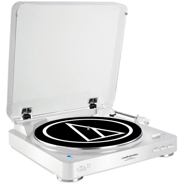Виниловый проигрыватель Audio-Technica AT-LP60BT White цена и фото