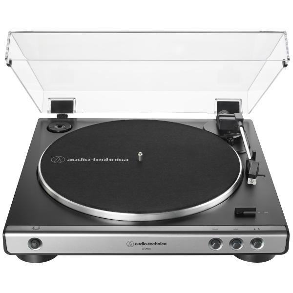 Виниловый проигрыватель Audio-Technica AT-LP60X USB Gun Metal виниловый проигрыватель audio technica at lp60bt wh