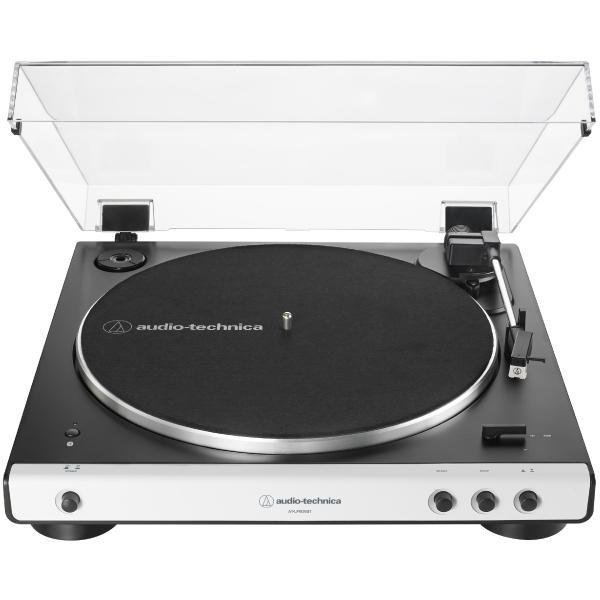 Виниловый проигрыватель Audio-Technica AT-LP60XBT White виниловый проигрыватель audio technica at lp60bt wh