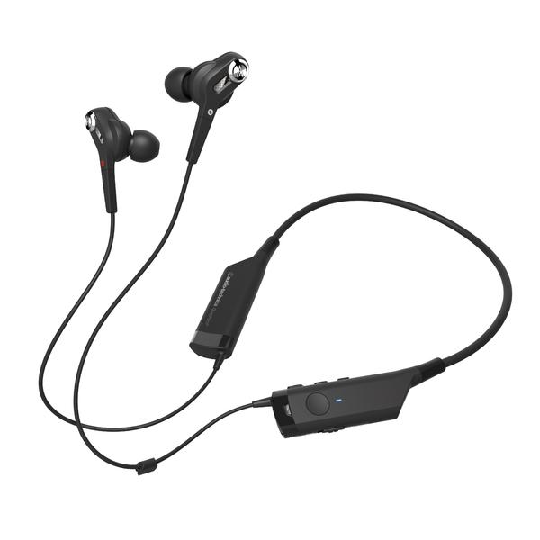 Беспроводные наушники Audio-Technica ATH-ANC40 BT Black