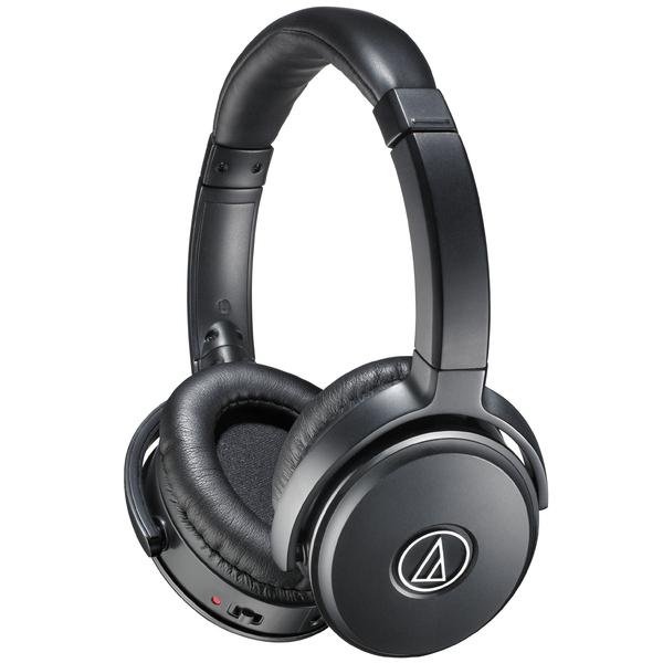 Охватывающие наушники Audio-Technica ATH-ANC50iS Black