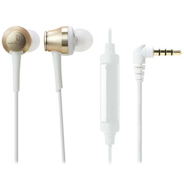Внутриканальные наушники Audio-Technica ATH-CKR70iS Champagne Gold