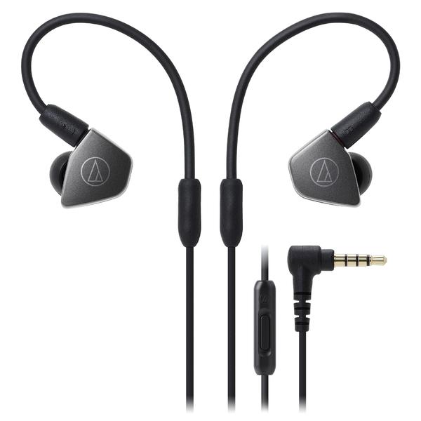 Внутриканальные наушники Audio-Technica ATH-LS70iS Silver внутриканальные наушники audio technica ath sport1 blue