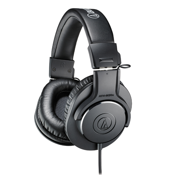 цена на Охватывающие наушники Audio-Technica ATH-M20X Black