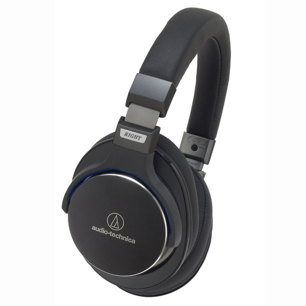 Охватывающие наушники Audio-Technica ATH-MSR7 Black