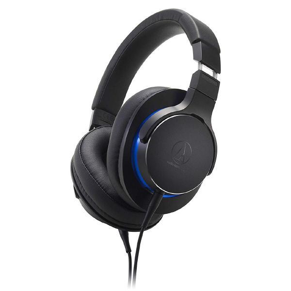 Охватывающие наушники Audio-Technica ATH-MSR7b Black