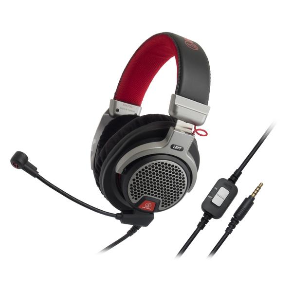 Охватывающие наушники Audio-Technica ATH-PDG1 Black/Red