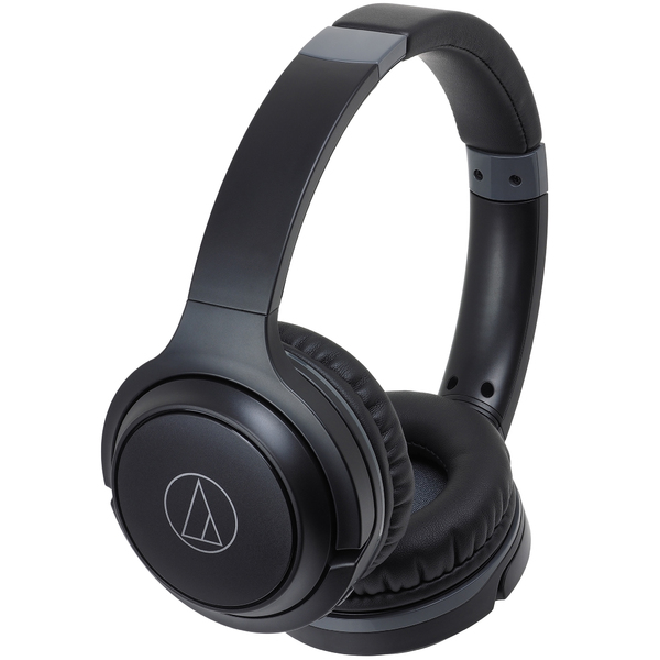Беспроводные наушники Audio-Technica ATH-S200BT Black наушники audio technica ath s200bt grey blue