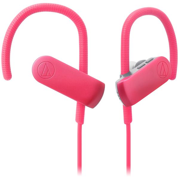 лучшая цена Беспроводные наушники Audio-Technica ATH-SPORT50BT Pink