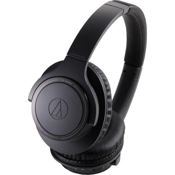 Беспроводные наушники Audio-Technica ATH-SR30BT Black наушники audio technica ath ws550is brd 3 5 мм накладные черный красный [10102360]