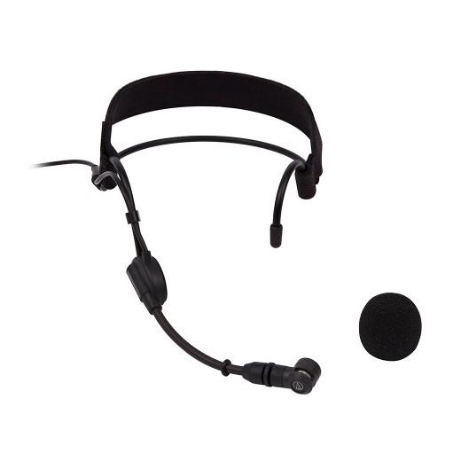 лучшая цена Головной микрофон Audio-Technica PRO9cW