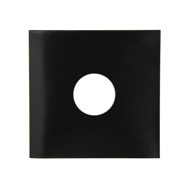 Конверт для виниловых пластинок Audiocore 10 Paper Cover Hole Record Sleeve Black (1 шт.) (внешний)