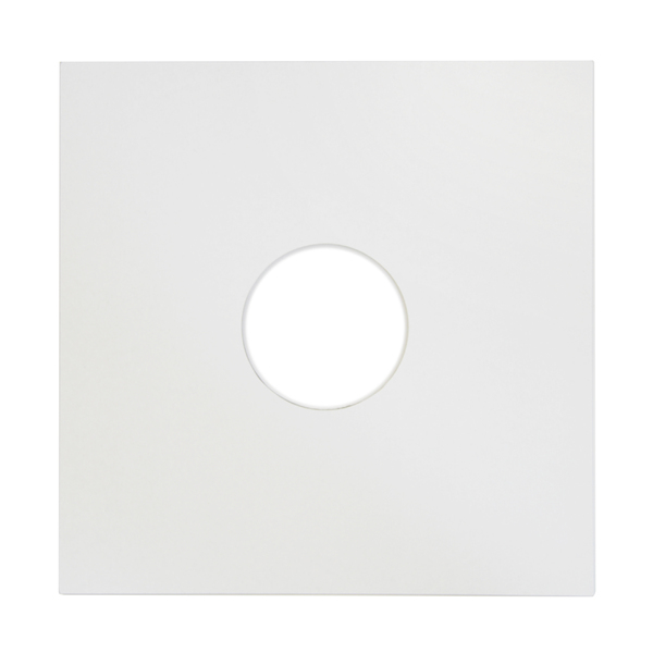 Конверт для виниловых пластинок Audiocore 12 Paper Cover Hole Record Sleeve White (1 шт.) (внешний)