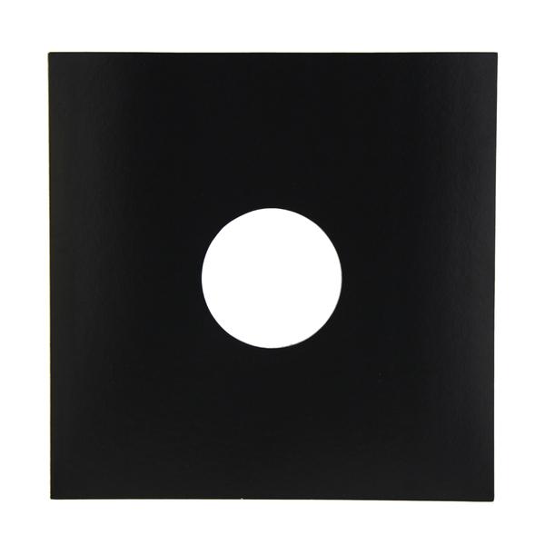Конверт для виниловых пластинок Audiocore 12 Paper Cover Hole Record Sleeve Black (1 шт.) (внешний)