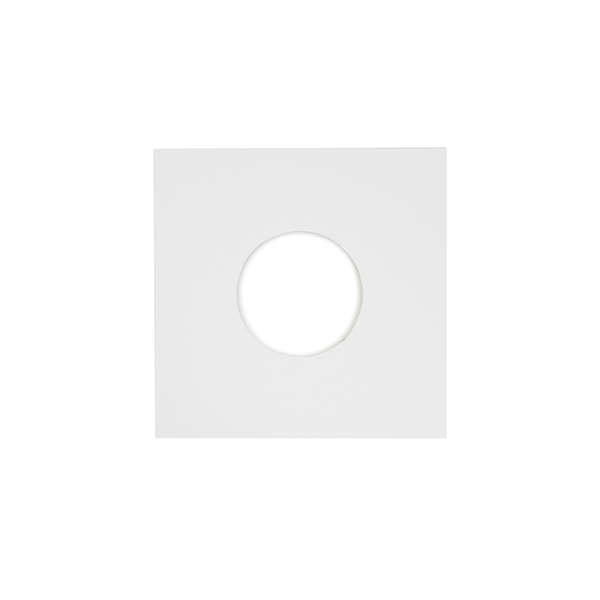 Конверт для виниловых пластинок Audiocore 7 Paper Cover Hole Record Sleeve White (1 шт.) (внешний)