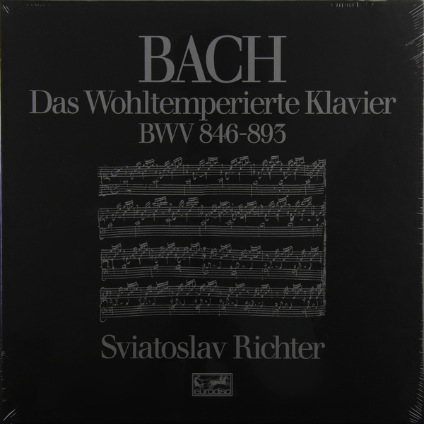 BACH BACHSviatoslav Richter - : The Well-tempered Clavier (books I + Ii) (6 LP) i philipp etudes en octaves d apres j s bach op 53