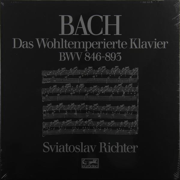 BACH BACHSviatoslav Richter - : The Well-tempered Clavier (books I + Ii) (6 LP) johann sebastian bach andrei vieru das wohltemperierte clavier i 2 cd