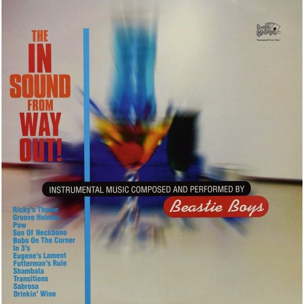 Beastie Boys Beastie Boys - The In Sound From Way Out цена