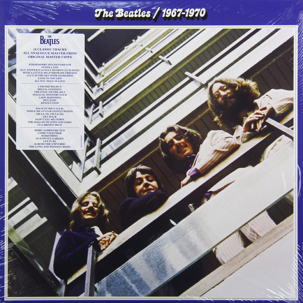 Beatles Beatles - 1967-1970 (2 LP) цена