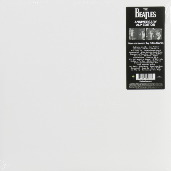 Beatles Beatles - White Album (giles Martin Mix) (2 LP) цена
