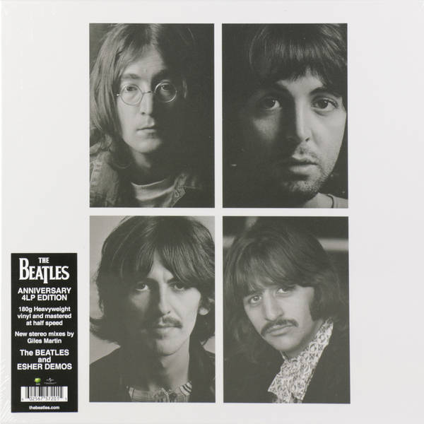 Beatles - White Album (giles Martin Mix) (4 LP)
