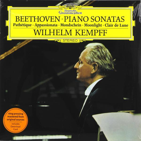 Beethoven BeethovenWilhelm Kempff - : Piano Sonatas Nos. 8, 14, 23 d steibelt 3 sonatas for piano and violin op 56