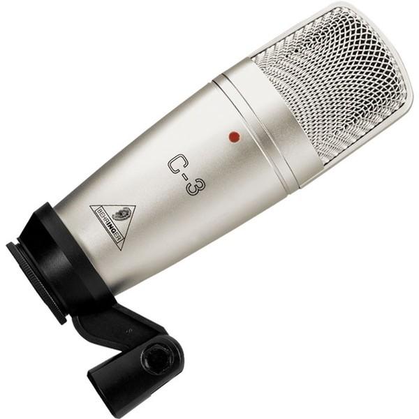 Студийный микрофон Behringer C-3 STUDIO CONDENSER MICROPHONE студийный микрофон behringer c 2 studio condenser microphones