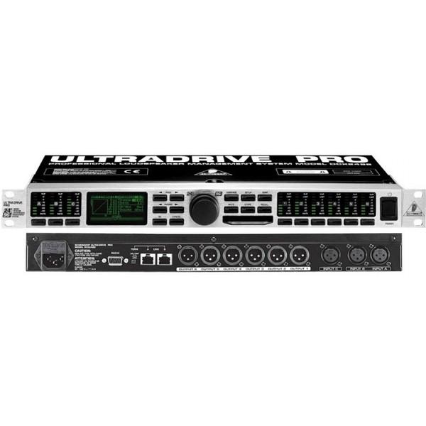 Контроллер/Аудиопроцессор Behringer DCX2496 ULTRADRIVE PRO
