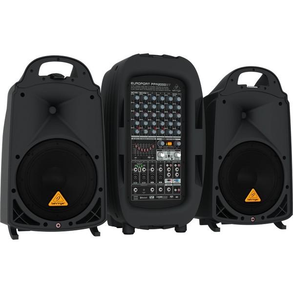 Комплект профессиональной акустики Behringer PPA2000BT