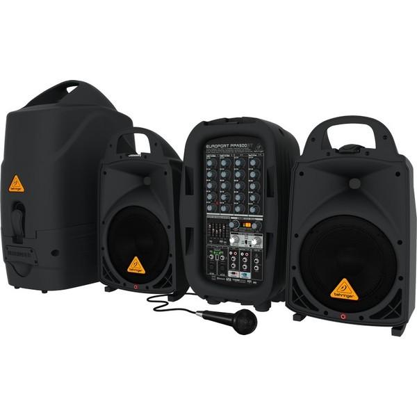 Комплект профессиональной акустики Behringer PPA500BT