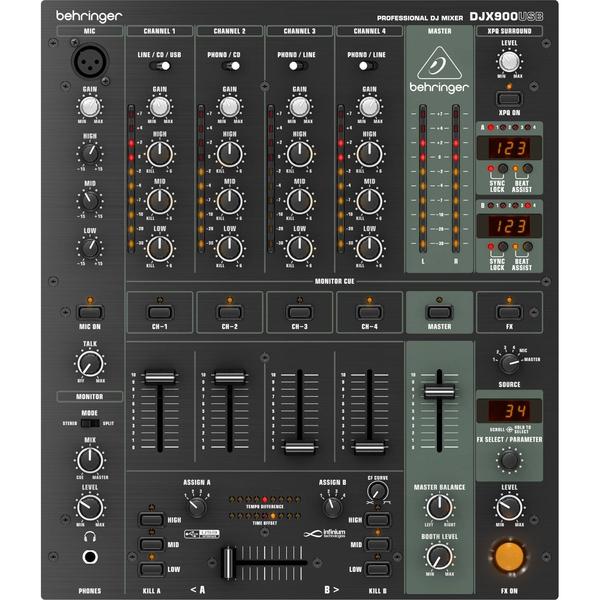 DJ микшерный пульт Behringer DJX900USB цена