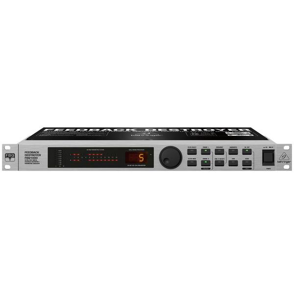 лучшая цена Контроллер/Аудиопроцессор Behringer Подавитель обратной связи FBQ1000 FEEDBACK DESTROYER