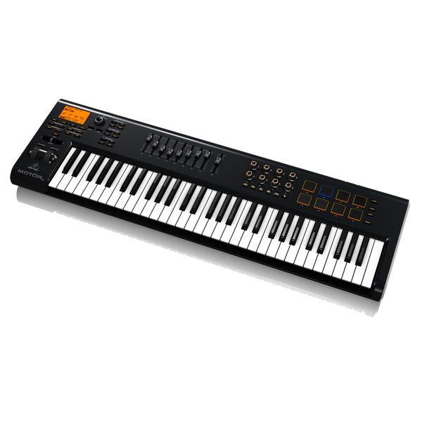 лучшая цена MIDI-клавиатура Behringer MOTOR 61